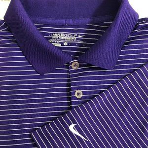 NIKE Golf Dri Fit Polo Performance Shirt Swoosh